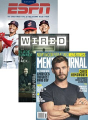 Men's Interest Magazine Package