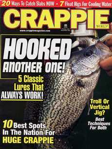 Crappie World Magazine - Outdoors and RecreationUS magazine subscriptions