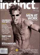 discount magazine subscriptions store - Instinct Magazine - Gay and Lesbian