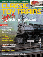 Classic Toy Trains Magazine - AutomotiveUS magazine subscriptions