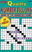 Quality Number Fill-Ins Magazine - Puzzles and GamesUS magazine subscriptions