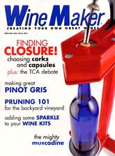 WineMaker Magazine - Food and GourmetUS magazine subscriptions