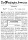 Washington Spectator Magazine - News and PoliticsUS magazine subscriptions