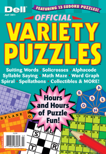 Dell Offical Variety Puzzles Magazine