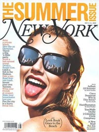 New York Magazine (NY, NJ, CT ONLY) Magazine