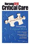 Nursing 2013 Critical Care Magazine - MedicalUS magazine subscriptions