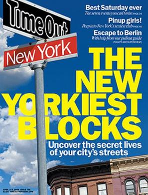 Time Out New York Magazine - Arts and EntertainmentUS magazine subscriptions