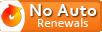 No AutoRenewals