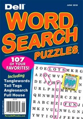 Dell Word Search Puzzles Magazine