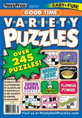 Good Time Variety Puzzles Magazine
