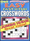 DELL'S BEST EASY FAST 'N' FUN CROSSWORDS Magazine
