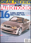 Automobile Magazine Subscription