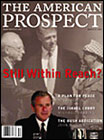 American Prospect Magazine, The Magazine Subscription