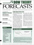 Dow Theory Forecasts Magazine Subscription