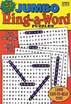 Jumbo Ring-a-Word Puzzles Magazine