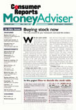 Consumer Reports Money Advisor Magazine