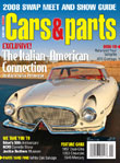 Cars and Parts Corvette Magazine Subscription
