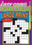 Easy Going Crosswords - Large Print Magazine