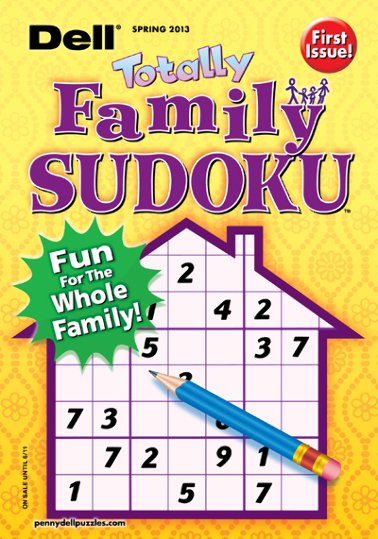 Dell Totally Family Sudoku Magazine