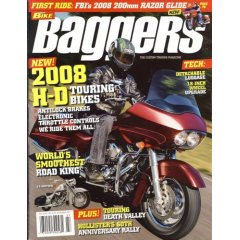 Hot Bike Baggers Magazine Subscription