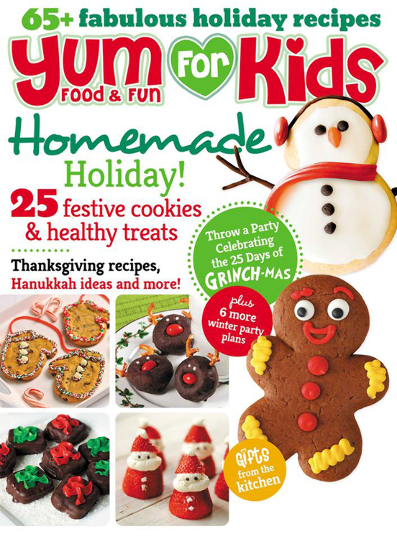 Yum Food  & Fun For Kids Magazine