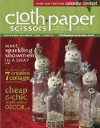 Cloth Paper Scissors Magazine Subscription