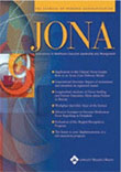 JONA, Journal of Nursing Administration Magazine