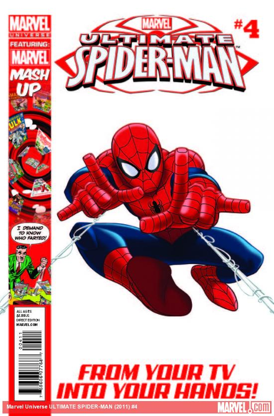 Marvel Universe Ultimate Spider-man Magazine