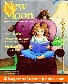 New Moon - The Magazine for Girls & Their Dreams Magazine Subscription