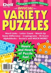 Official Variety Puzzle & Word Games Magazine Subscription
