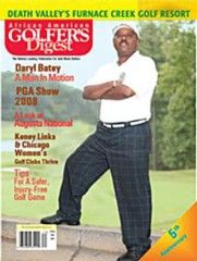 African American Golfer's Digest Magazine Subscription