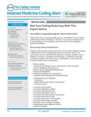 Internal Medicine Coding Alert Magazine Subscription