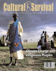 Cultural Survival Quarterly Magazine Subscription