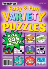 Approved Easy & Fun Variety Puzzles Magazine Subscription